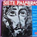 Discos de vinilo: LP - SIETE PALABRAS - VARIOS (DISCOTECA PAX 1961). Lote 154305414