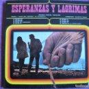 Discos de vinilo: LP - ESPERANZAS Y LAGRIMAS - CORAL JUAN DE ENCINA DE PAMPLONA (DISCOTECA PAX 1970, PORTADA DOBLE). Lote 154305618