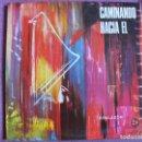 Discos de vinilo: LP - CAMINANDO HACIA EL - COROS Y ORQ. DIR. FRANCISCO PALAZON(EDICIONES PAULINAS 1970, PORTADA DOBLE. Lote 154305942
