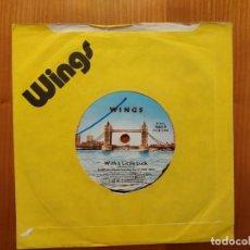 Discos de vinilo: BEATLES MCCARTNEY WINGS SG WITH A LITTLE LUCK. UK. Lote 154306238