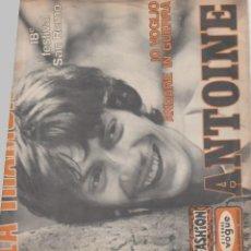 Discos de vinilo: ANTOINE LA TRAMONTA /IO VOGLIO ANDARE IN GUERRA 18O FESTIVAL SAN REMO 1969. Lote 154311946