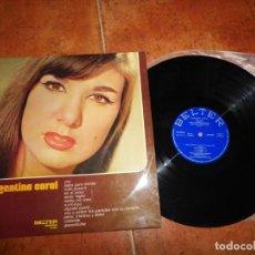 Discos de vinilo: ARGENTINA CORAL VOY LP VINILO DEL AÑO 1972 BELTER RUMBAS GITANAS CONTIENE 12 TEMAS. Lote 154314418