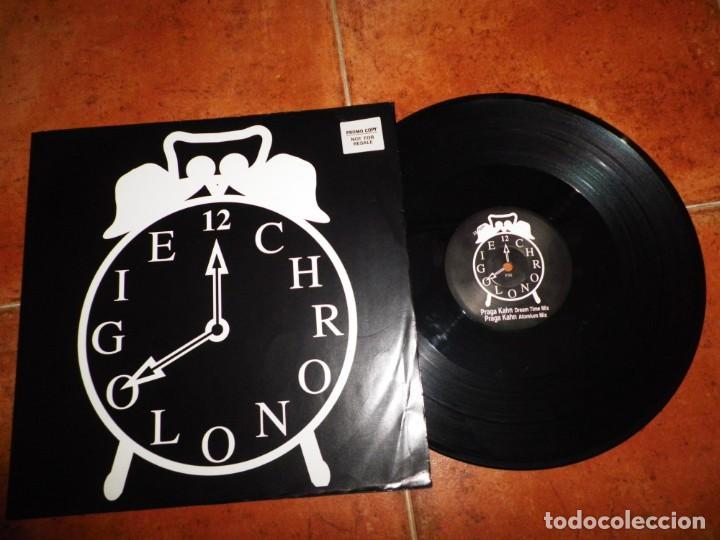 JEAN MICHEL JARRE CHRONOLIGIE CHRONO 2 MAXI SINGLE VINILO PROMO 1993 UK 3 TEMAS RARO (Música - Discos de Vinilo - Maxi Singles - Pop - Rock Internacional de los 90 a la actualidad)