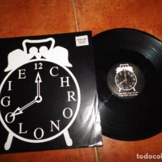 Discos de vinilo: JEAN MICHEL JARRE CHRONOLIGIE CHRONO 2 MAXI SINGLE VINILO PROMO 1993 UK 3 TEMAS RARO. Lote 154320434