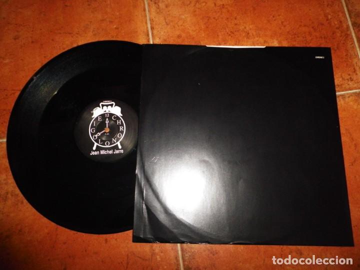 Discos de vinilo: JEAN MICHEL JARRE Chronoligie CHRONO 2 MAXI SINGLE VINILO PROMO 1993 UK 3 TEMAS RARO - Foto 2 - 154320434