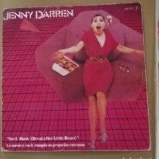 Discos de vinilo: JENNY DARREN - ROCK MUSIC ( BREAK HER LITTLE HEART). Lote 154322172