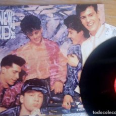 Discos de vinilo: VINILO NEW KIDS ON THE BLOCK STEP BY STEP 1990. Lote 154324262
