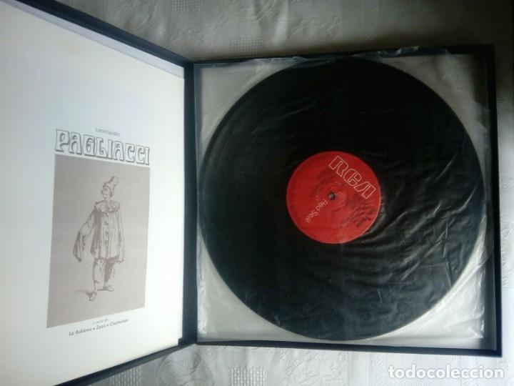 Discos de vinilo: PAGLIACCI Montserrat CABALLÉ, P.Domingo 2 vinilos - Foto 2 - 154325494