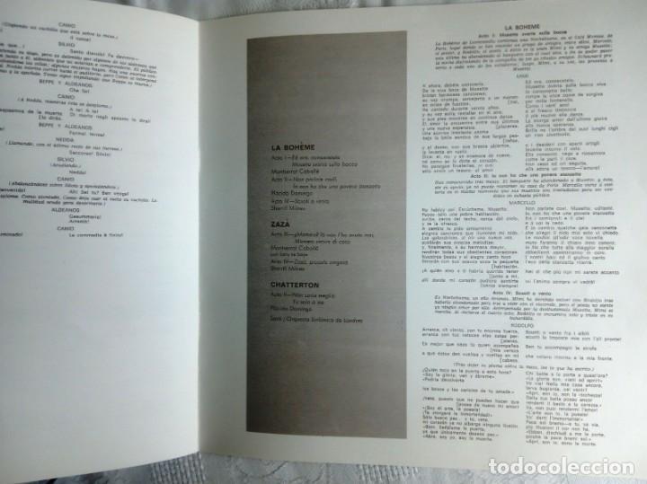 Discos de vinilo: PAGLIACCI Montserrat CABALLÉ, P.Domingo 2 vinilos - Foto 3 - 154325494