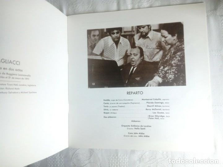 Discos de vinilo: PAGLIACCI Montserrat CABALLÉ, P.Domingo 2 vinilos - Foto 4 - 154325494