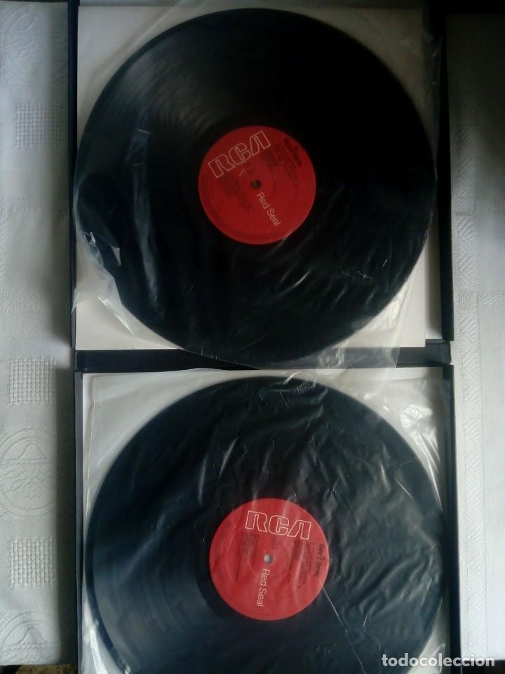 Discos de vinilo: PAGLIACCI Montserrat CABALLÉ, P.Domingo 2 vinilos - Foto 5 - 154325494