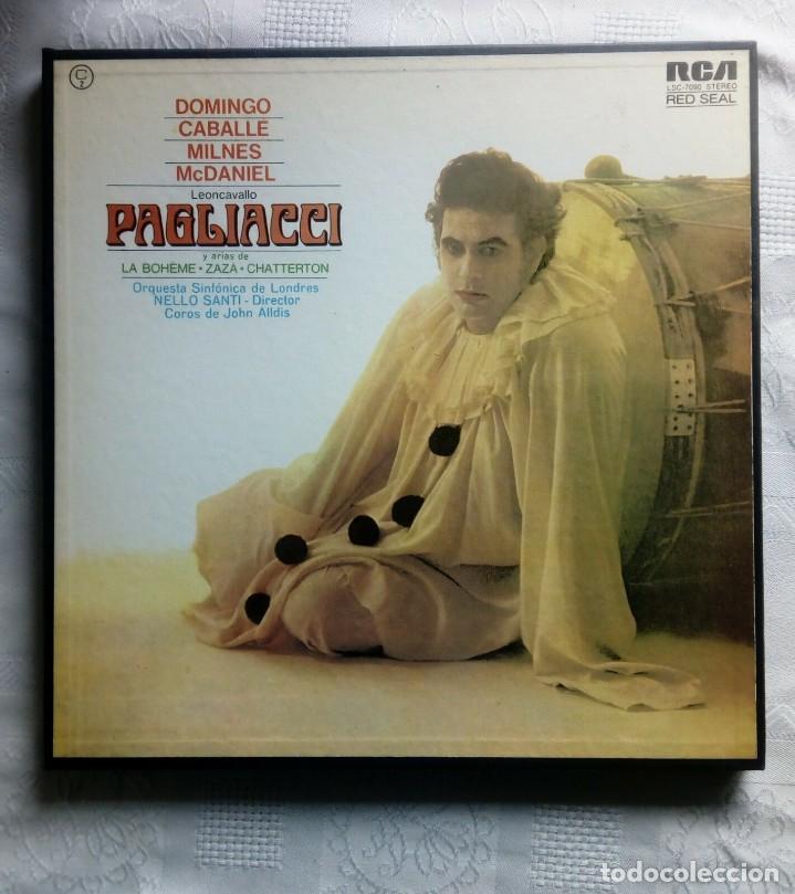 Discos de vinilo: PAGLIACCI Montserrat CABALLÉ, P.Domingo 2 vinilos - Foto 8 - 154325494