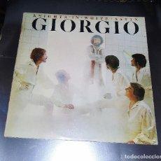 Discos de vinilo: GIORGIO MORODER --- L.P. ---KNIGHT IN WHITE SATIN +5. Lote 154327910