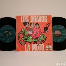 Discos de vinilo: LOTE 2 DISCOS VINILO DE 45 R.P.M. DE LOS BRAVOS EN UNA FUNDA. CITO TITULOS. Lote 154329498