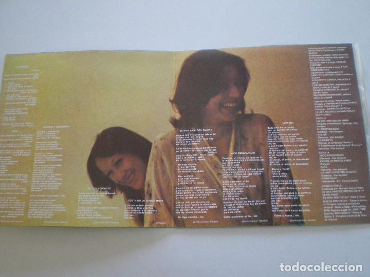 Discos de vinilo: VAINICA DOBLE -Contracorriente - LP ORIGINAL MOVIEPLAY / GONG 1975 // COMO NUEVO // PROG FOLK PSYCH - Foto 2 - 154334090