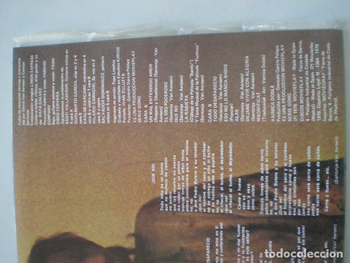 Discos de vinilo: VAINICA DOBLE -Contracorriente - LP ORIGINAL MOVIEPLAY / GONG 1975 // COMO NUEVO // PROG FOLK PSYCH - Foto 3 - 154334090
