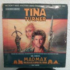 Discos de vinilo: TINA TURNER . MAD MAX . MÁS ALLÁ DE LA CÚPULA DEL TRUENO. Lote 154352462