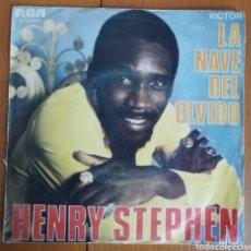 Disques de vinyle: HENRY STEPHEN - LA NAVE DEL OLVIDO. Lote 154373394