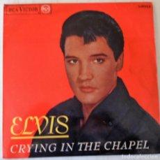 Discos de vinilo: ELVIS PRESLEY - CRYING IN THE CHAPEL + 3 TEMAS RCA VICTOR - 1965. Lote 154376162