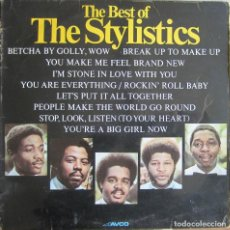 Discos de vinilo: STYLISTICS, THE: THE BEST OF THE STYLICTICS. Lote 154378802