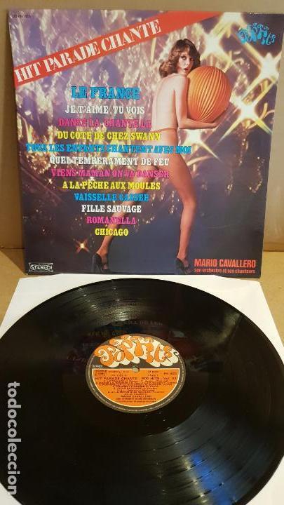 MARIO CAVALLERO / HIT PARADE CHANTE-POP HITS / LP-MUSIDISC-FRANCE / / LUJO. ****/**** (Música - Discos - Singles Vinilo - Canción Francesa e Italiana)