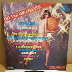 Discos de vinilo: MARIO CAVALLERO / HIT PARADE CHANTE-POP HITS / LP-MUSIDISC-FRANCE / / LUJO. ****/****. Lote 154379606