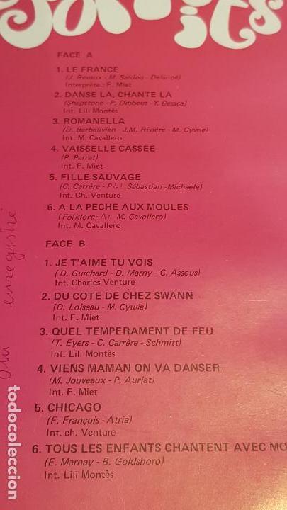 Discos de vinilo: MARIO CAVALLERO / HIT PARADE CHANTE-POP HITS / LP-MUSIDISC-FRANCE / / LUJO. ****/**** - Foto 3 - 154379606