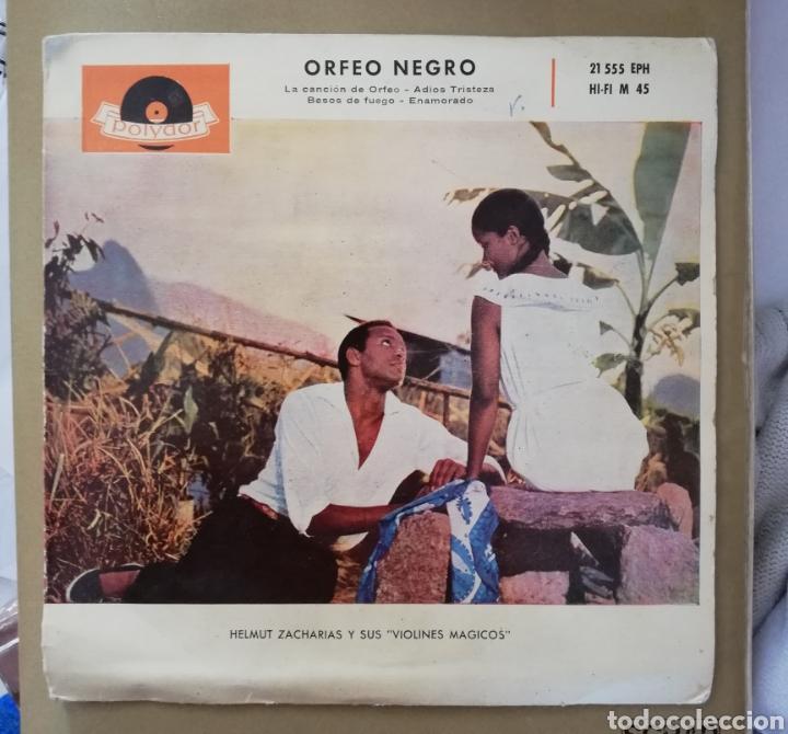 HELMUT ZACARÍAS Y SUS VIOLINES MAGICOS - ORFEO NEGRO (Música - Discos de Vinilo - EPs - Orquestas)
