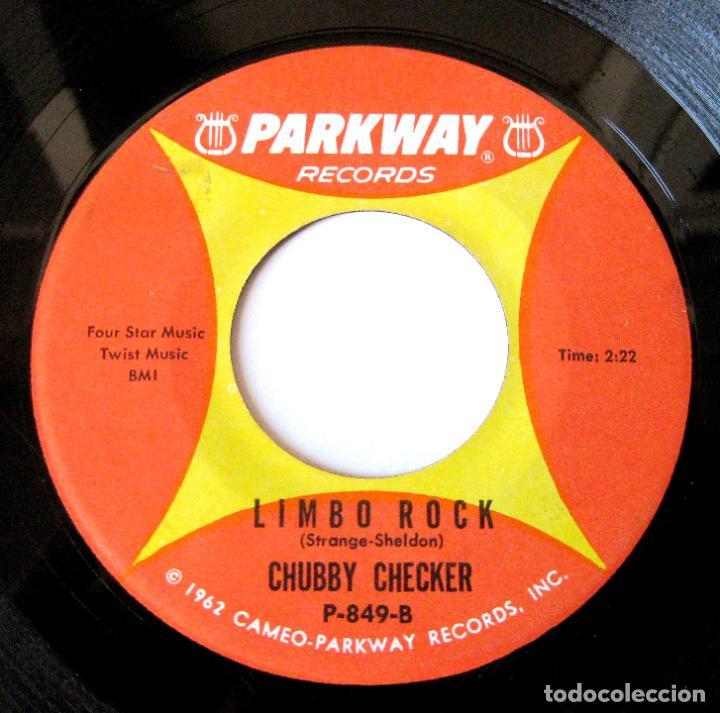 Discos de vinilo: Chubby Checker - Popeye The Hitchhiker / Limbo Rock - Single Parkway 1962 USA BPY - Foto 4 - 154380614
