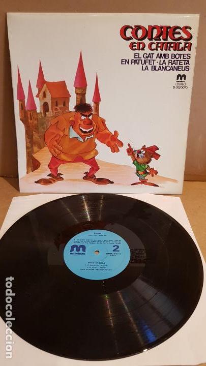 GRUPO DE TEATRO LOS CAMPANILLEROS / CONTES EN CATALÀ / LP-MUSIVOX-1981 / MBC. ***/*** (Música - Discos - LPs Vinilo - Música Infantil)