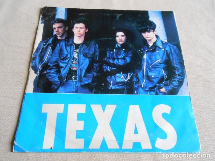 TEXAS, SG, FOOL FOR LOVE + 1, AÑO 1990 PROMO (Música - Discos - Singles Vinilo - Pop - Rock Extranjero de los 90 a la actualidad)