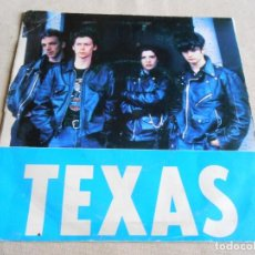 Discos de vinilo: TEXAS, SG, FOOL FOR LOVE + 1, AÑO 1990 PROMO. Lote 154381182