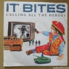 Discos de vinilo: IT BITES - CALLING ALL THE HEROES. Lote 154381241