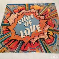 Discos de vinil: BOB DYLAN -SHOT OF LOVE- (1981) LP DISCO VINILO. Lote 154390070