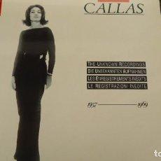 Discos de vinilo: MARIA CALLAS. Lote 154392866