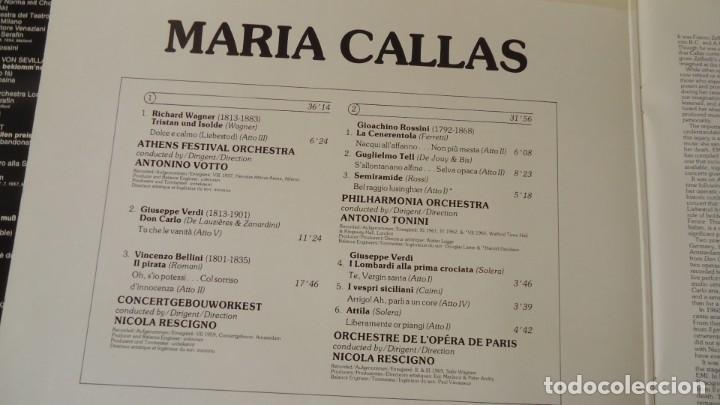 Discos de vinilo: MARIA CALLAS - Foto 2 - 154392866
