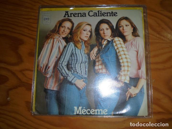 ARENA CALIENTE. MECEME / SOLO (SOLA). CBS, 1976. (#) (Música - Discos - Singles Vinilo - Flamenco, Canción española y Cuplé)