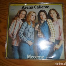 Discos de vinilo: ARENA CALIENTE. MECEME / SOLO (SOLA). CBS, 1976. (#). Lote 154407558