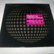 Discos de vinilo: MADONNA - CONFESSIONS REMIXED ...3 LP´S - EDICION LIMITADA - U.S.A - 2006 WARNER - MUY BUSCADO. Lote 154416466