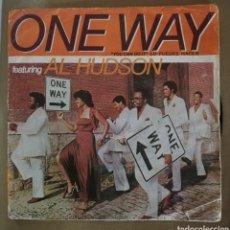 Discos de vinilo: AL HUDSON - ONE WAY. Lote 154429036