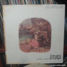 Discos de vinilo: LA TRAMPA - ACÉRCATE Y BÉSAME. Lote 154439738