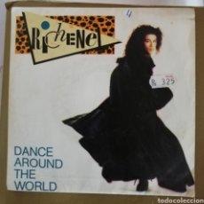Discos de vinilo: RICHENEL - DANCE AROUND THE WORLD. Lote 154469202