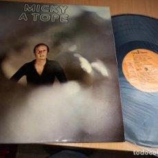 Discos de vinilo: MICKY A TOPE LP RCA 1974. Lote 154469982