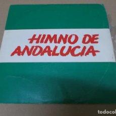 Dischi in vinile: PARTIDO SOCIALISTA ANDALUZ (EP) HIMNO DE ANDALUCIA – CORAL POLIFONICA AÑO 1977. Lote 154473182