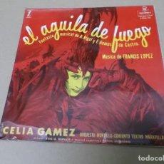 Discos de vinilo: CELIA GAMEZ (EP) EL AGUILA DE FUEGO AÑO 1957. Lote 154480558