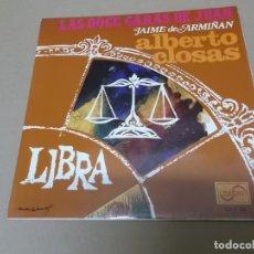 Discos de vinilo: ALBERTO CLOSAS (EP) LAS DOCE CARAS DE JUAN - LIBRA AÑO 1968. Lote 154484890