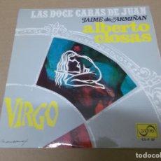 Discos de vinilo: ALBERTO CLOSAS (EP) LAS DOCE CARAS DE JUAN - VIRGO AÑO 1968. Lote 154484982