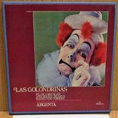 Discos de vinilo: CAJA ÁLBUM / LAS GOLONDRINAS - ATAULFO ARGENTA / 2 LPS DE LUJO + INSERTO.. Lote 58485124