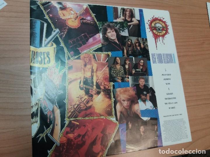 Discos de vinilo: GUNS N'ROSES - USE YOUR ILLUSION II - DOBLE LP - Foto 5 - 141899666