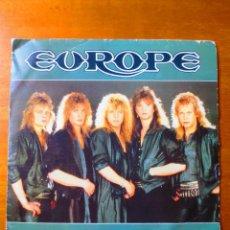 Discos de vinilo: EUROPE - THE FINAL COUNTDOWN Y ON BROKEN WINGS (SINGLE) (EPIC 1986). Lote 154493218